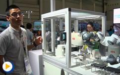 2016ABB自动化世界--ABB机器人为手机壳贴钻现场讲解