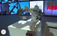 2016ABB自动化世界--YuMi机器人毛笔书写智能技术,智能跨越!