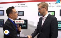 北尔电子贸易(上海)有限公司Mikael Hansson先生2016IAS现场接受中国工控网专访