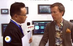 2016IAS现场采访北尔电子贸易(上海)有限公司 Axel Gustafson先生