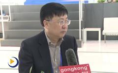 第十五届中国国际机床展览会工控网记者对话秦川机床工具集团股份有限公司董事长龙兴元先生
