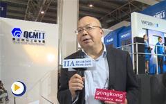 第十五届中国国际机床展览会秦川机床工具集团股份有限公司总裁胡弘接受采访
