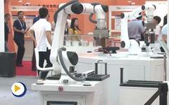 深圳市大族电机科技有限公司第21届华南国际自动化展展台展示