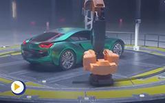 整车喷漆视觉检测技术