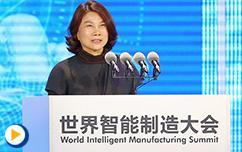 董明珠:让世界爱上中国制造-2017年世界智能制造大会