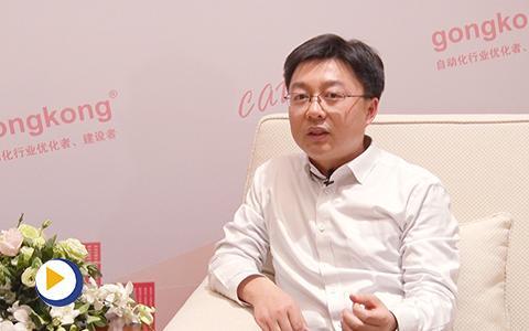 上海辛格林纳新时达电机有限公司总经理金辛海接受工控网采访