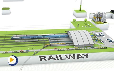万可电子—铁路