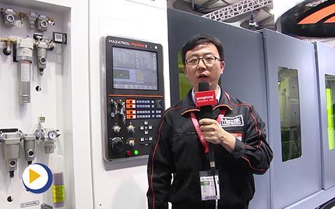 山崎马扎克(中国)有限公司机床展视频