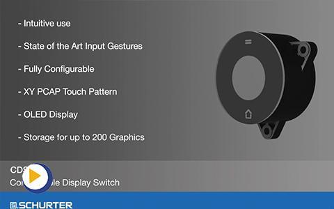 电容式触摸技术智能输入系统 CDS1 产品应用