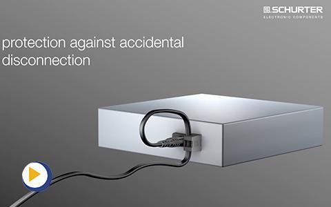 瑞士 SCHURTER 2576 及2578 第一款IEC C8 电源线固定插座