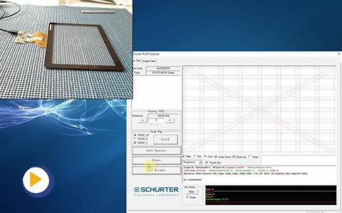 瑞士 SCHURTER 触屏套件的使用方法