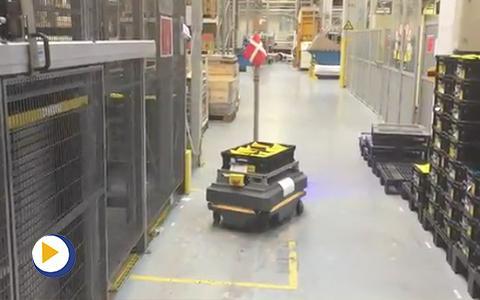 丹佛斯未来工厂——无人驾驶运输
