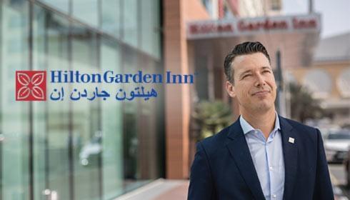 阿联酋迪拜购物中心希尔顿花园酒店