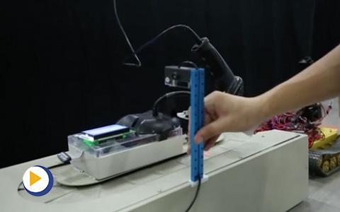 台达杯决赛作品-智能机械臂