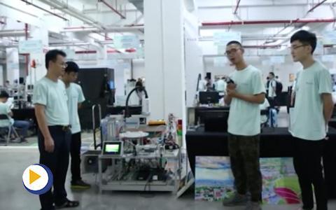 台达杯决赛作品-自动化有机肥生产线