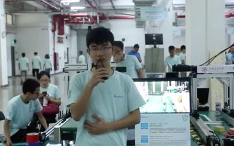 台达杯决赛作品-智能码头集装箱物流系统