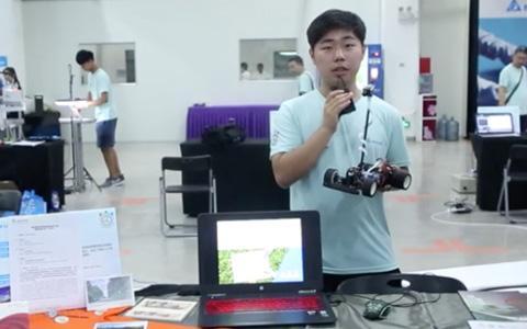 台达杯决赛作品-智能导向购物车
