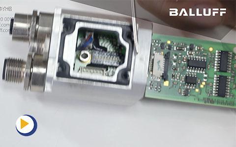 巴鲁夫磁致位移伸缩位移传感器BTL5 Profibus站地址的更换