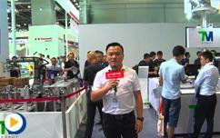 达明机器人新产品TM12,14  亮相中国工博会