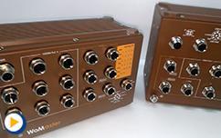 中波动光新品开箱-专为铁路应用开发的L2和L3工业管理型交换机MP310.MP614