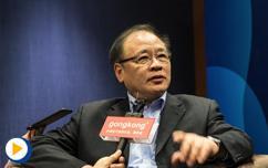 """""""赋能升级,智造未来""""中国科学院院士褚君浩接受采访@2018世界智能制造大会"""