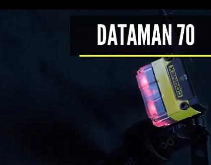 康耐视DataMan 70 高读码率演示