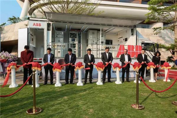 ABB展车全国巡展三亚首发启动仪式