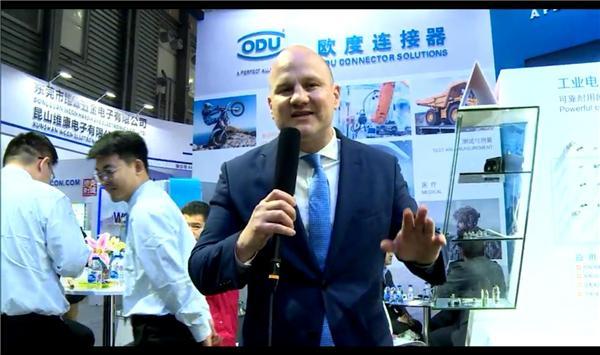 歐度(上海)國際貿易有限公司展臺采訪