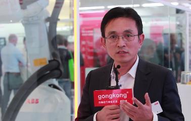 汉诺威工业展-ABB中国首席数字官李清源先生介绍参展亮点