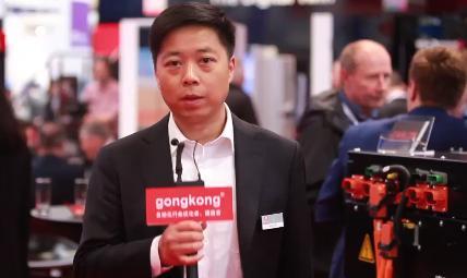 汉诺威工业展-易盼软件展台视频