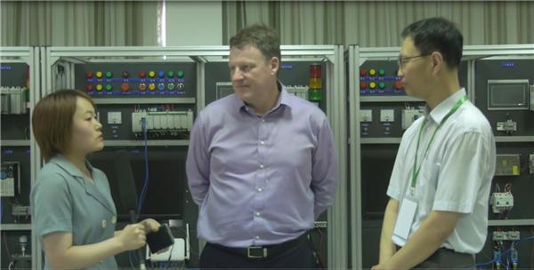 Michael Cook 罗克韦尔自动化全球大学项目总监接受gongkong采访