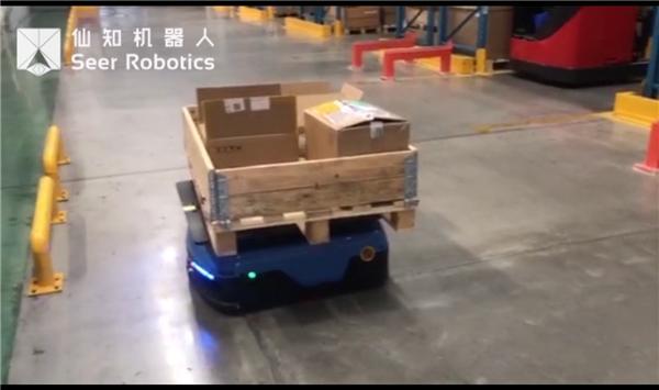 基于SRC的頂升機器人應用視頻