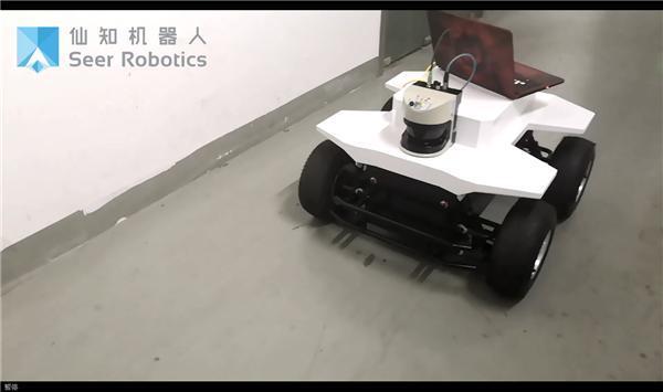 基于SRC的室外巡检机器人精度测试