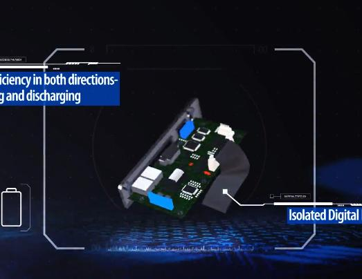 RECOM 10kW双向充放电PSU