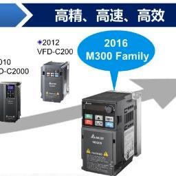 台达变频器M300家族产品选购指南