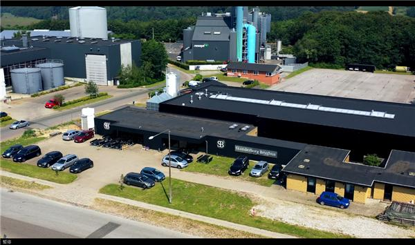 ifm于Skanderborg酿酒厂应用