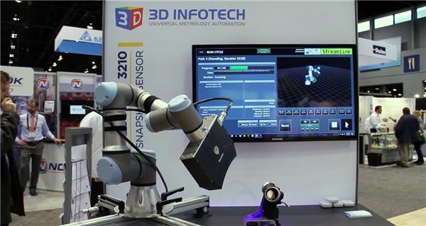 Gocator 3D线激光轮廓传感器与UR机器人集成