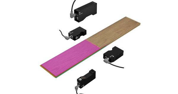 GOCATOR 线激光轮廓传感器的不同型号组成多传感器网络