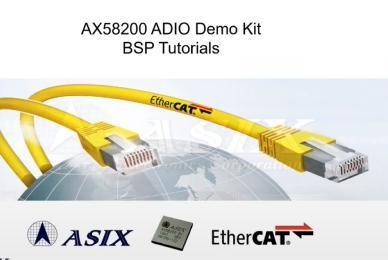 18分钟快速架设AX58200 EtherCAT从站ADIO开发套件环境