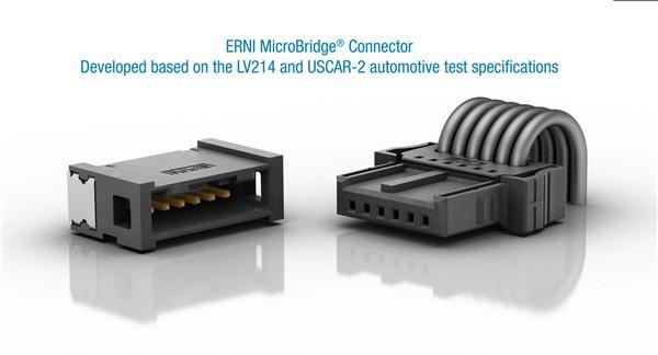 MicroCon连接器微型化、双排小引脚连接器