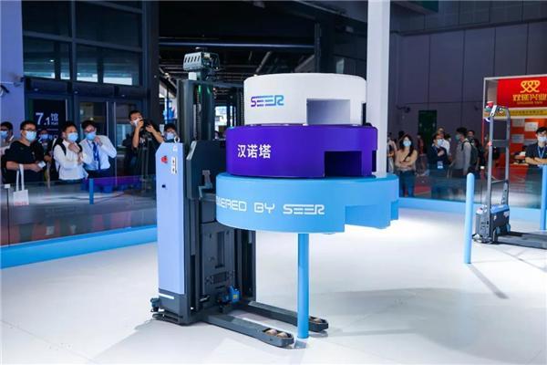 基于SRC的激光SLAM小型堆高式自动叉车SFL-CDD14 精准高效叉货演示