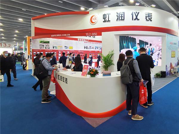 虹润公司参加2021年广州国际工业自动化技术及装备展览会现场盛况