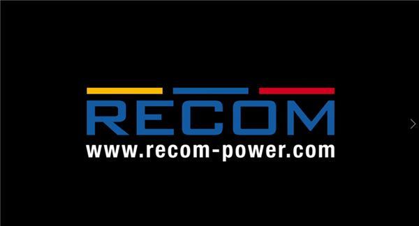 RECOM 新型冷却方式 RACM1200-V 系列