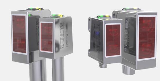 堡盟NextGen卫生级和防冲洗型光电传感器